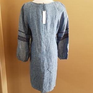 fe383fbbf1 Sanctuary Dresses - NWT Sanctuary Mirabelle Lace Up Linen Dress